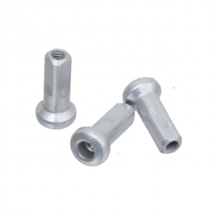 Sapim 2.0mm - 14 Gauge Inverted Polyax Spoke Nipple