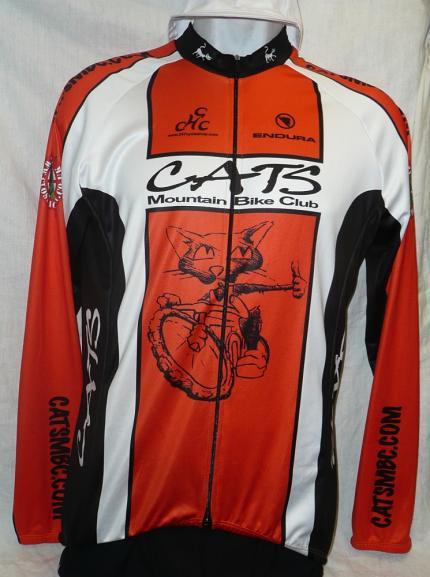 CATS MBC Endura Long Sleeved Jersey Full Zip