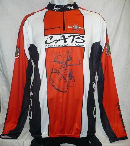 CATS MBC Endura Long Sleeved Jersey Short Zip