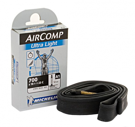 Michelin Aircomp 700c 18 - 23c Inner Tube