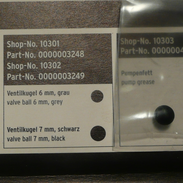 SKS 7mm Black Valve Ball