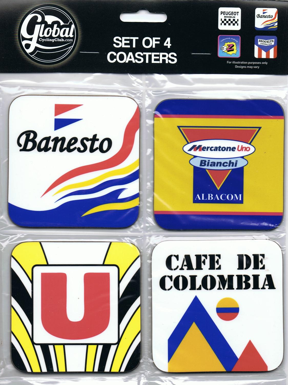 Classic Coasters Banesto Mercatone Uno System U & Cafe De Colombia