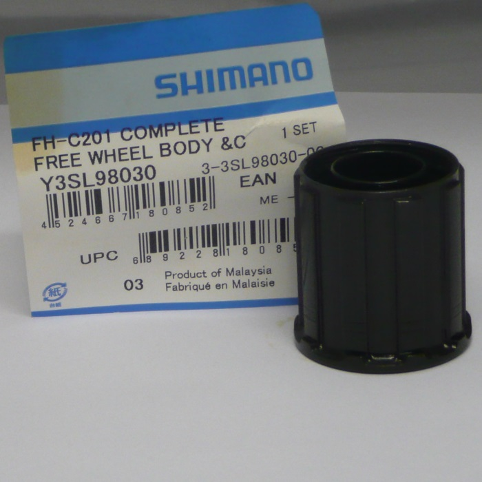 Shimano C201 & RM40 8 speed MTB Freehub body Y-3SL 98030