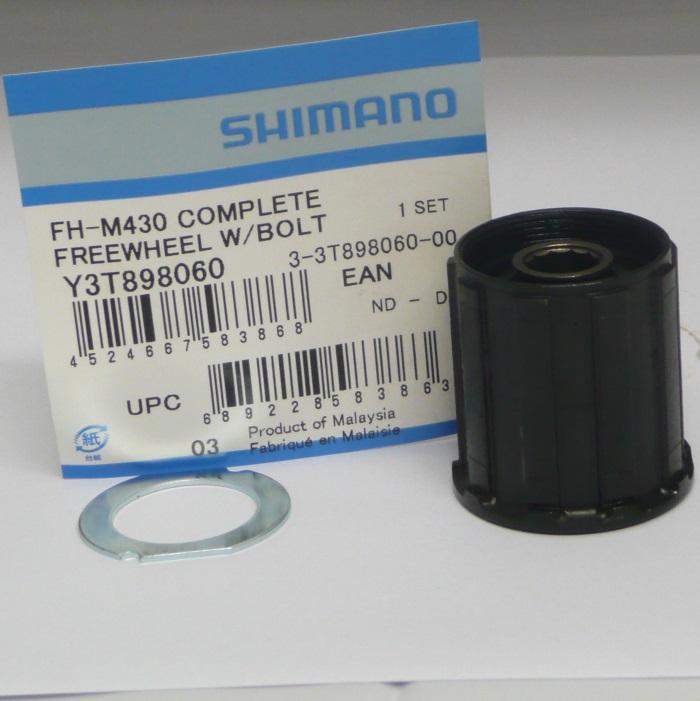 Shimano FH-M435 & M430 8 & 9 Speed Freehub body Y-3T8 98060