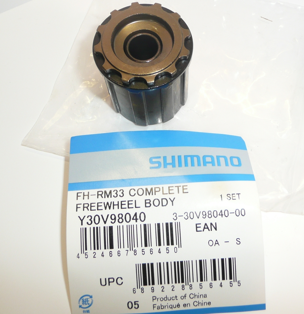 Shimano FH-RM33 Freehub body 8 speed Y-30V 98040