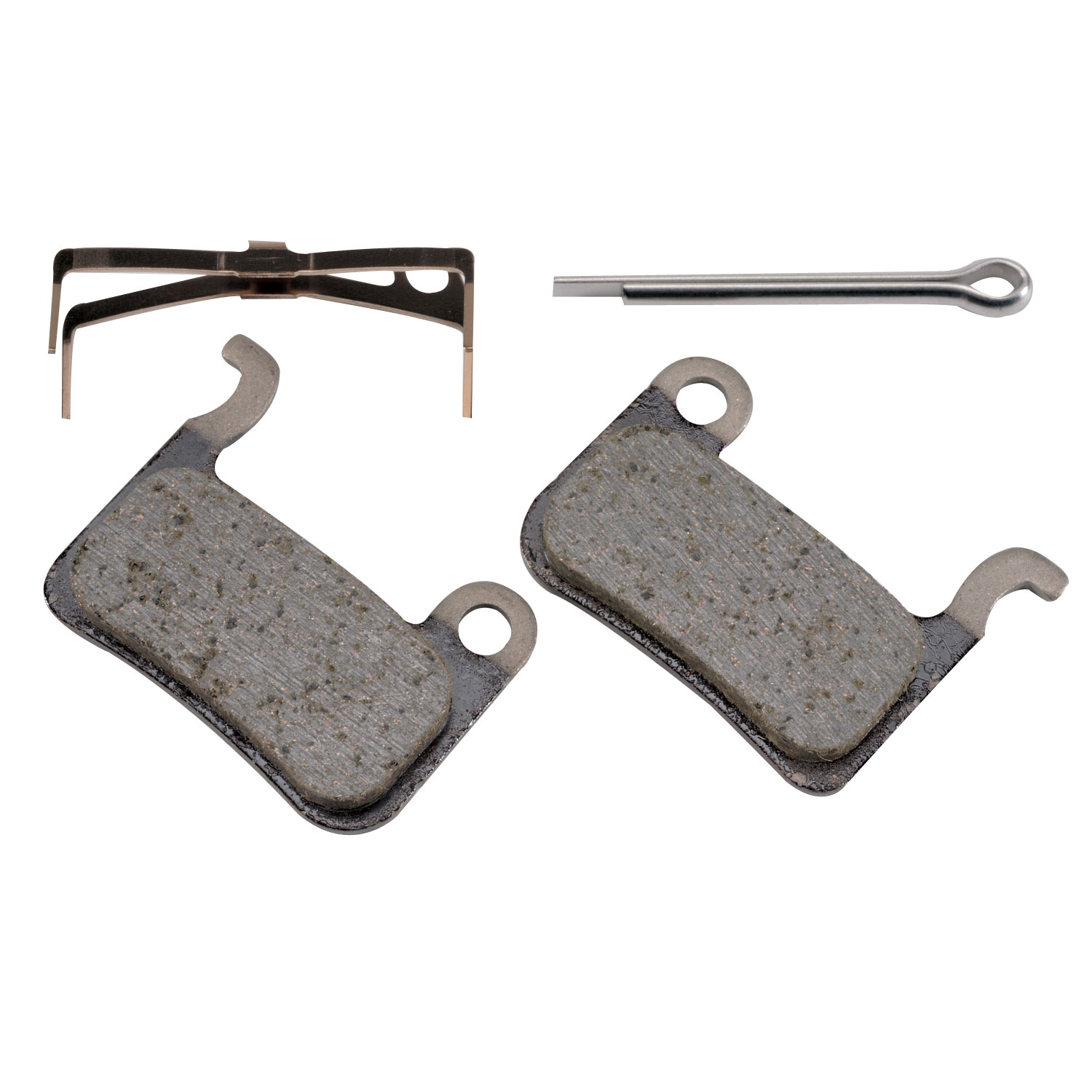 Shimano M07Ti BR-M975 Resin disc Pads with Spring