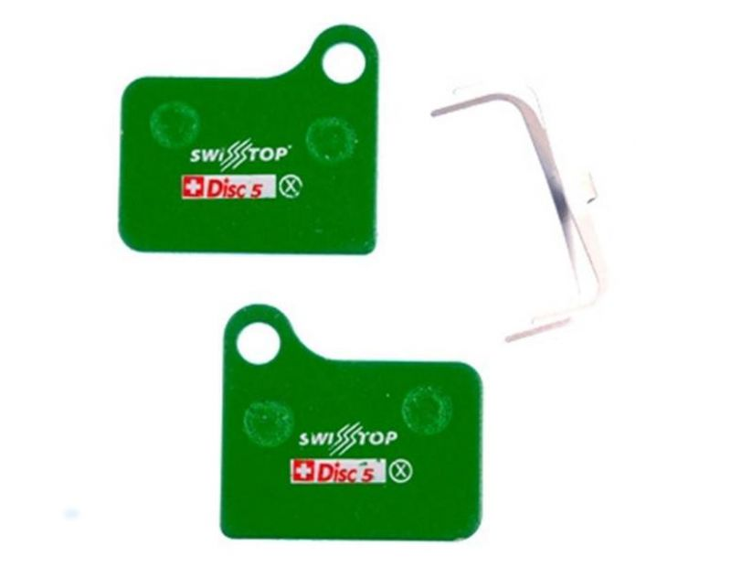 SwissStop Organic Disc Pads for Shimano Deore & Nexave BR-M555