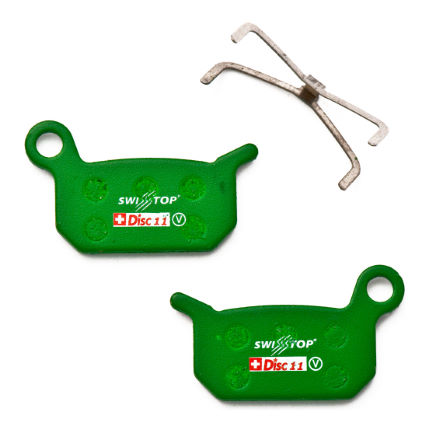 SwissStop Organic Disc Pads for Formular 4 Racing