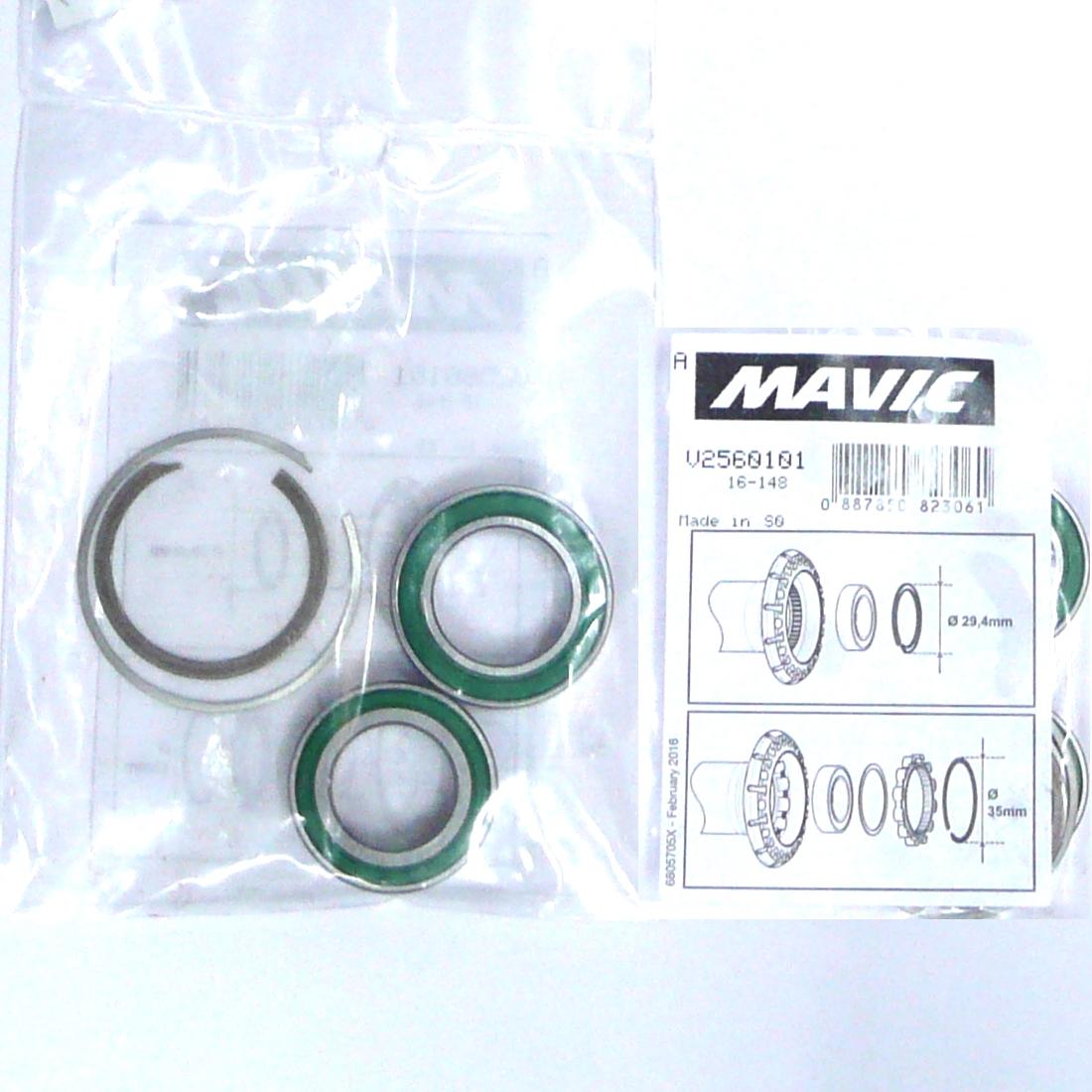 Hub Bearing Kit V2560101 with circlips