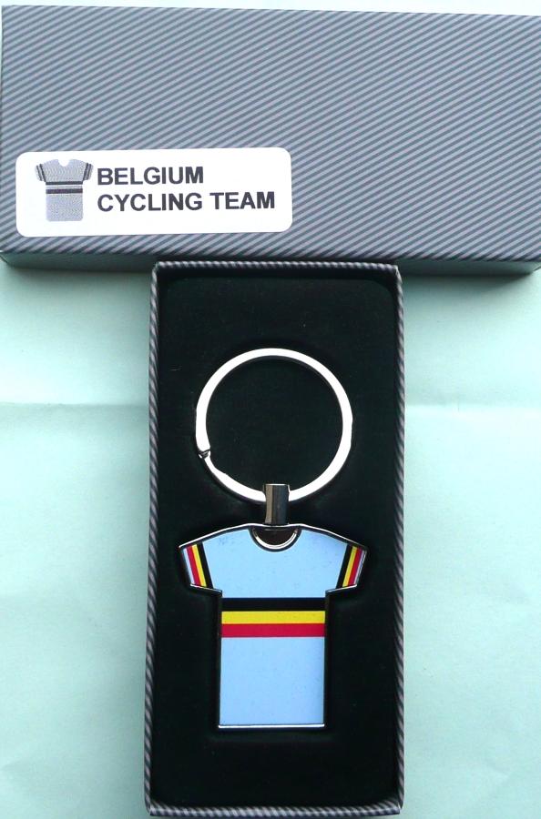 Team Belgium National Jersey Key Ring