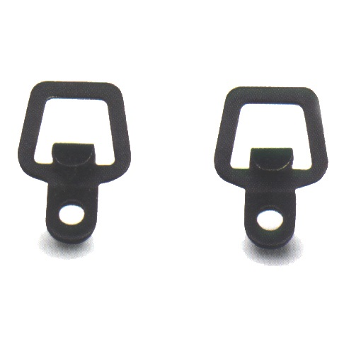 D Rings for Pannier Rack legs for Elastic Hook End Fastening