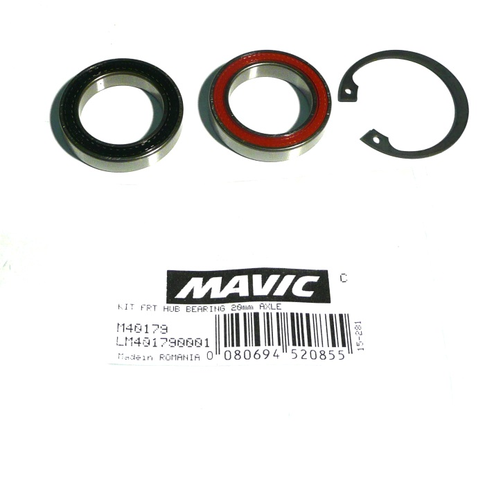 Front Hub Bearing Kit 20mm Axle