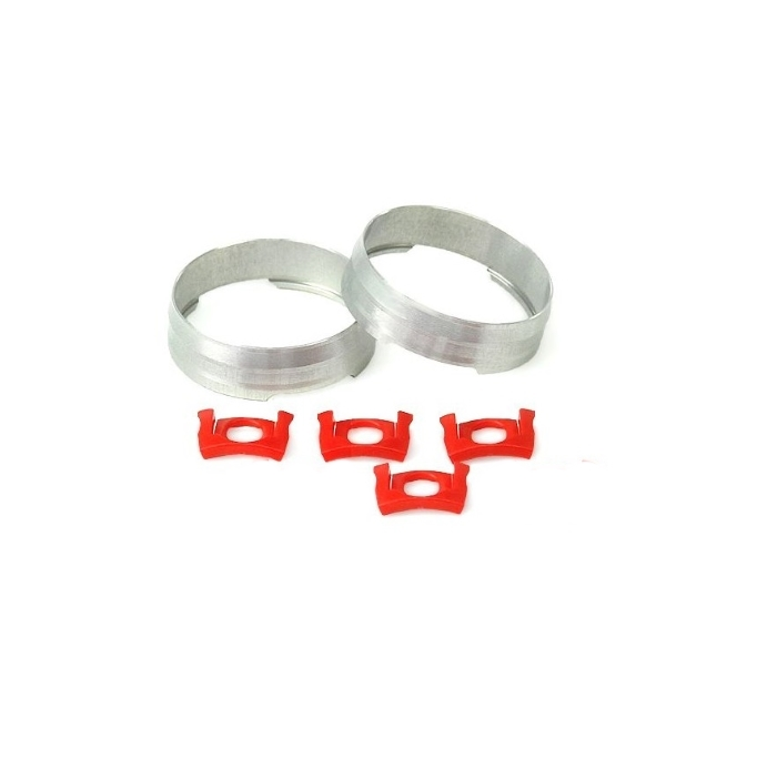 Tracomp Ring & Red Plastic Clips