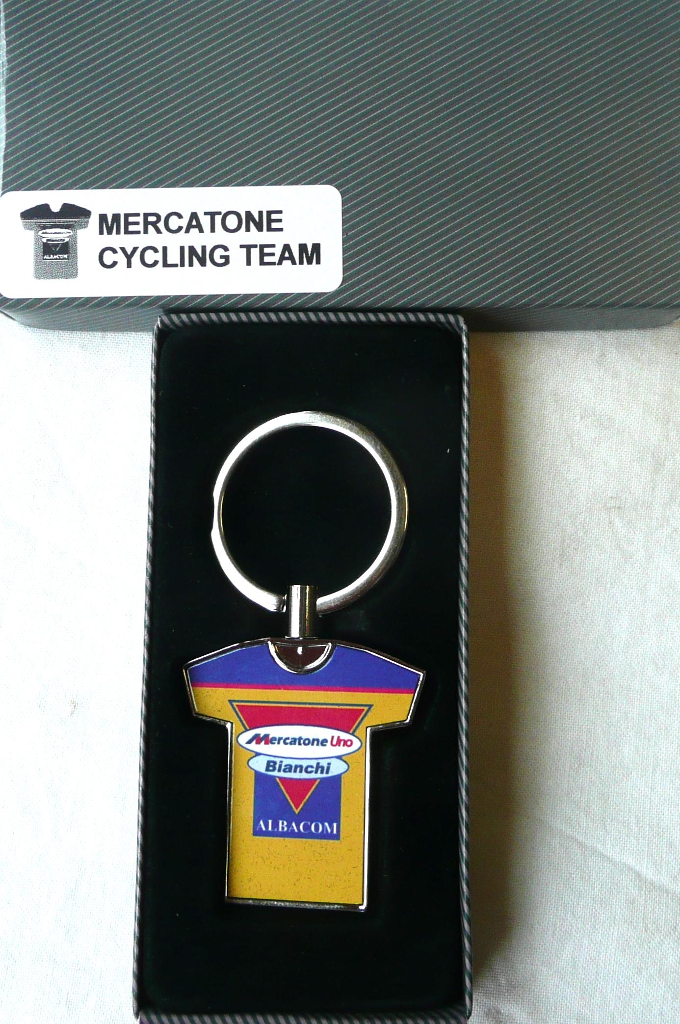 Team Mercatone Uno Key Ring