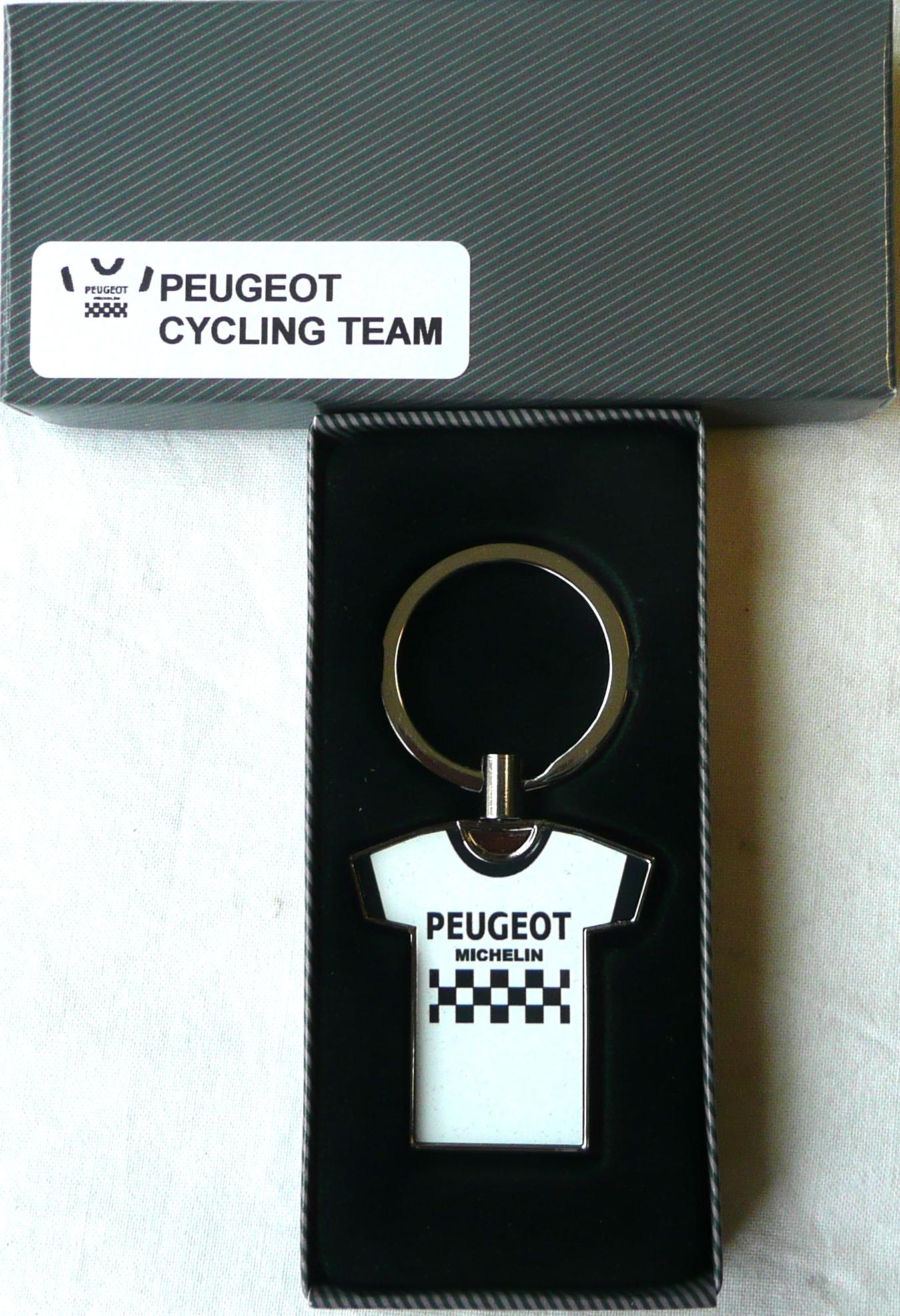 Team Peugeot Key Ring