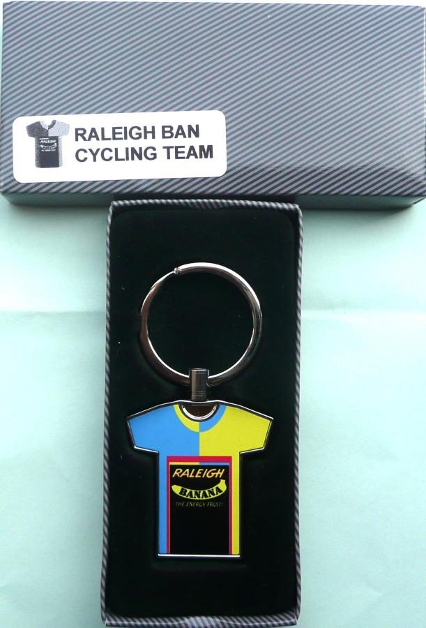 Team Raleigh Banana Jersey Key Ring