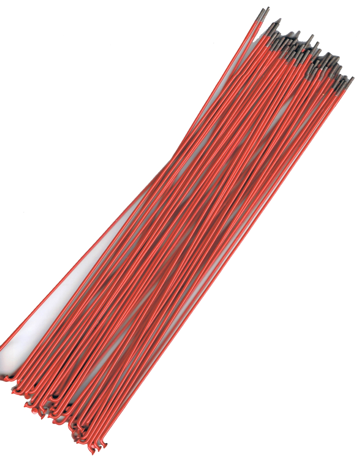 American Classic Red Butted Spokes 258 - 290mm J Bend 14 - 16g