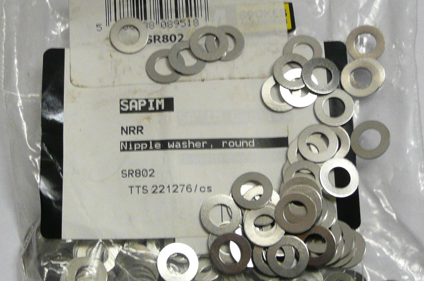 Sapim Round Nipple Washers