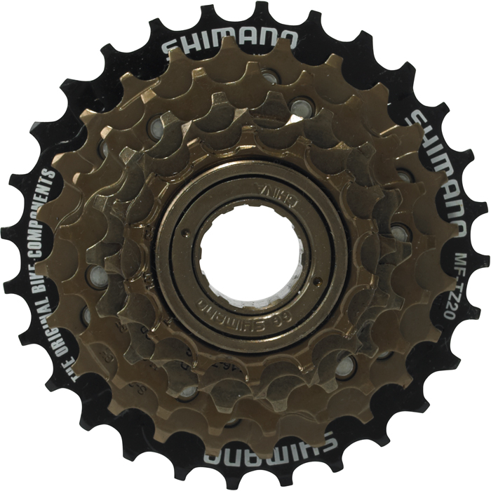 Shimano MF-TZ20 6 speed Freewheel 14 - 28