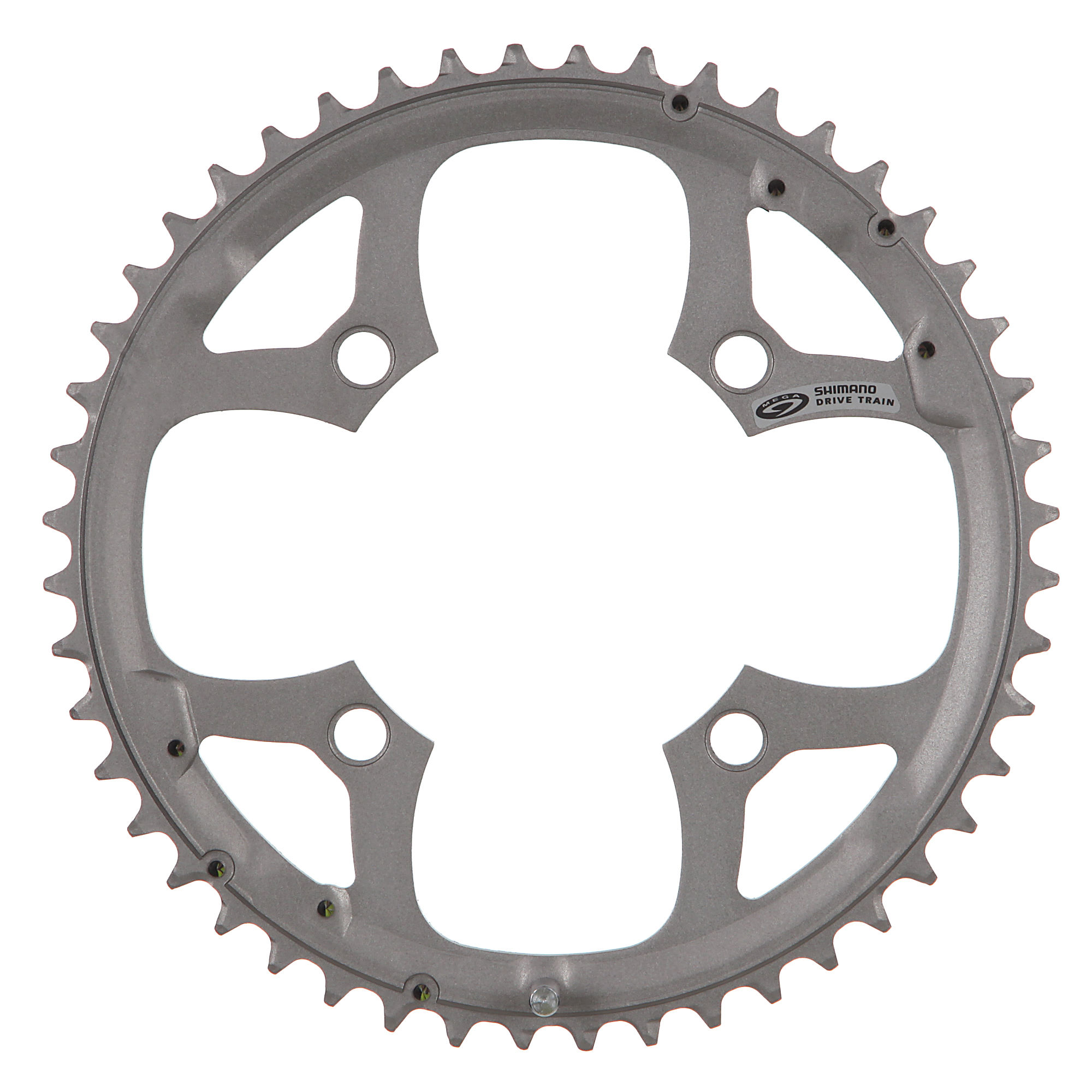 Shimano Deore FC-M510 48t 9 Speed 4 Bolt Silver Outer Chainring
