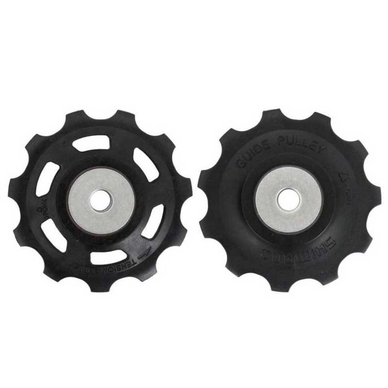 Shimano 11 tooth Jockey Wheels / Gear Pulleys XT 10 speed Dyna-Sys