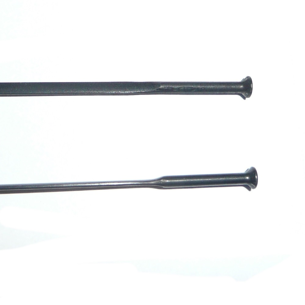 Sapim CX Ray Black Aero Butted Spokes 220 - 248mm Straight Pull (Rod)