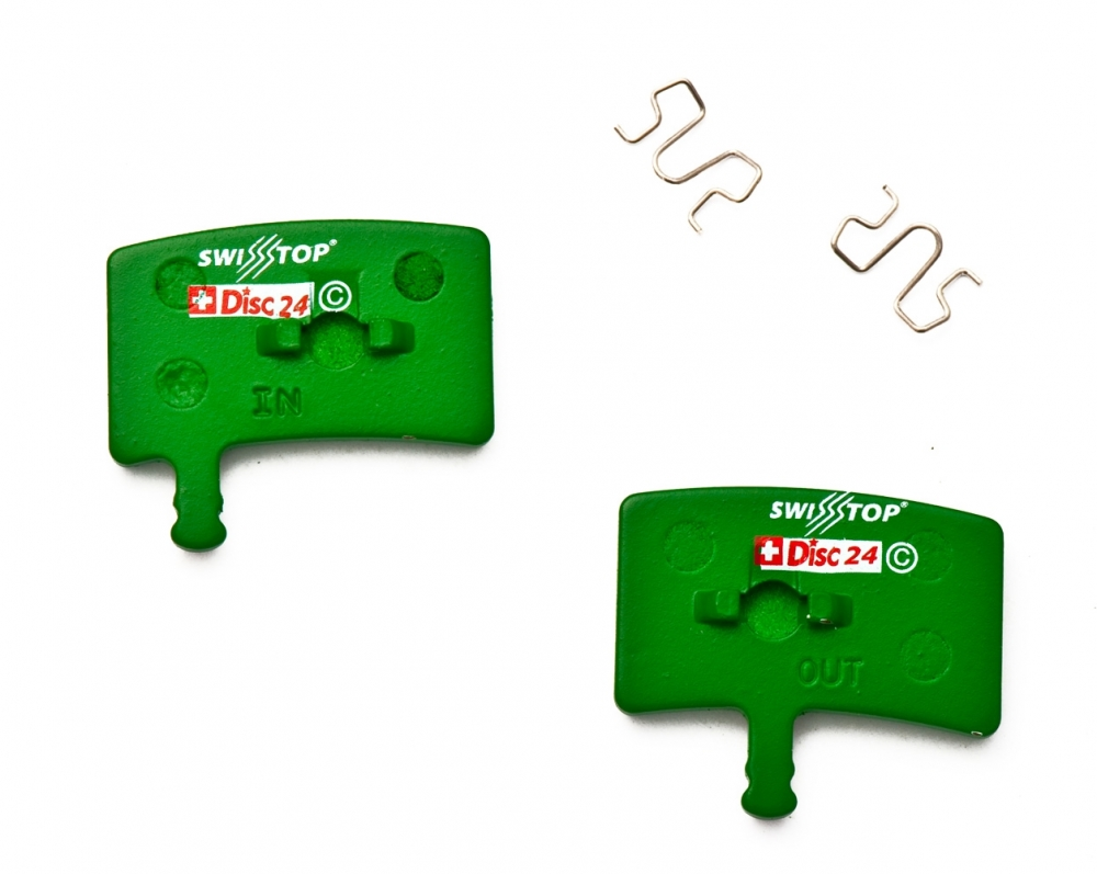 SwissStop Organic Disc Pads for Hayes Stroker Trail