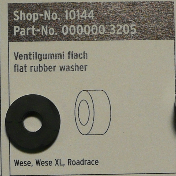 SKS Wese Wese XL and Roadrace Pump Rubber Insert