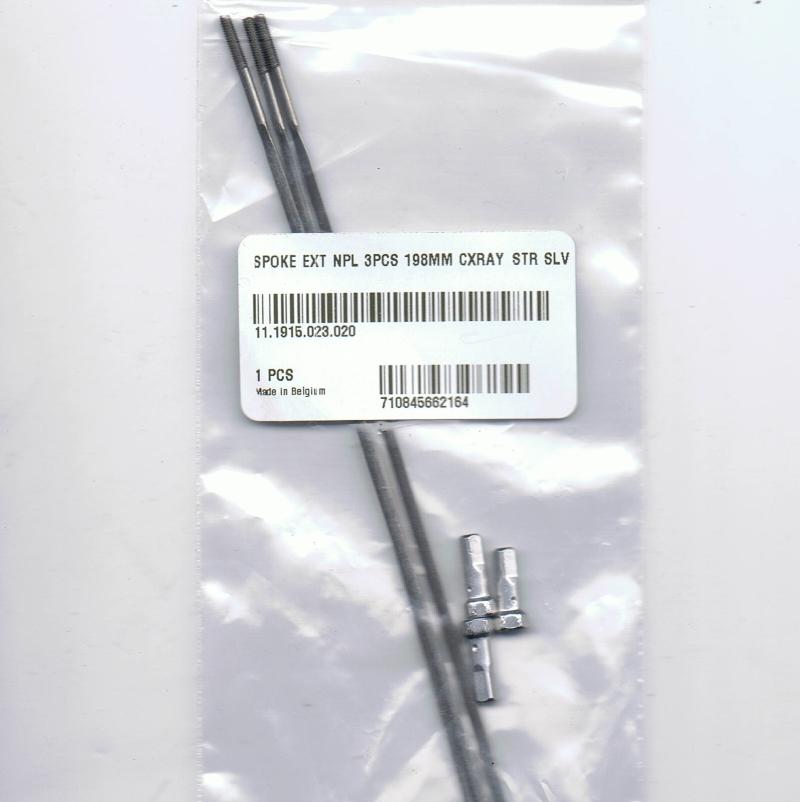 Zipp Straight Pull Spoke Kit 198mm