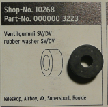 SKS Teleskop Airboy VX Supersport and Rookie Pump Rubber Insert for Presta Valves