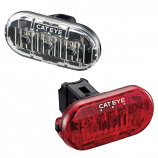 Cateye Omni 3 LD135 LED Front & Rear Light Set