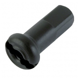 DT 2.0mm 14 Gauge 12mm Black Alloy Prolock Spoke Nipple