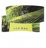 BUFF TECH HEADBAND FLASH LOGO FLUORESCENT YELLOW HEADWEAR