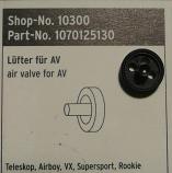 SKS Teleskop Airboy VX Supersport and Rookie Air Valve Insert