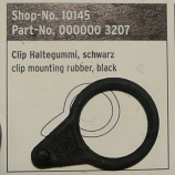 SKS Pump Clip Mounting Rubber