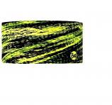 BUFF COOLMAX UV HEADBAND FRACT YELLOW FLUORESCENT HEADWEAR