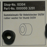 SKS Rubber Washer Insert for Thumb