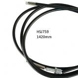 Sturmey Archer Nimbus Lever Black Gear Cable Set.